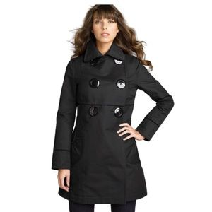 Soia & Kyo Fit & Flare Walking Coat Spring Black S